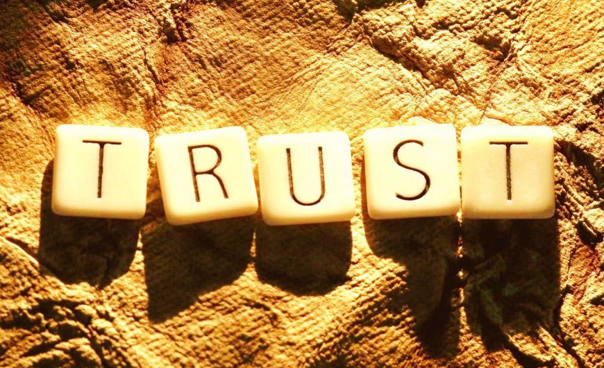 εμπιστοσύνη στα ενέχυρα