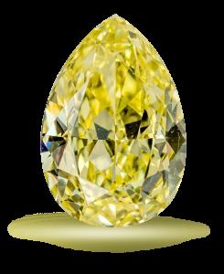 Κίτρινο στρόγγυλο διαμάντι