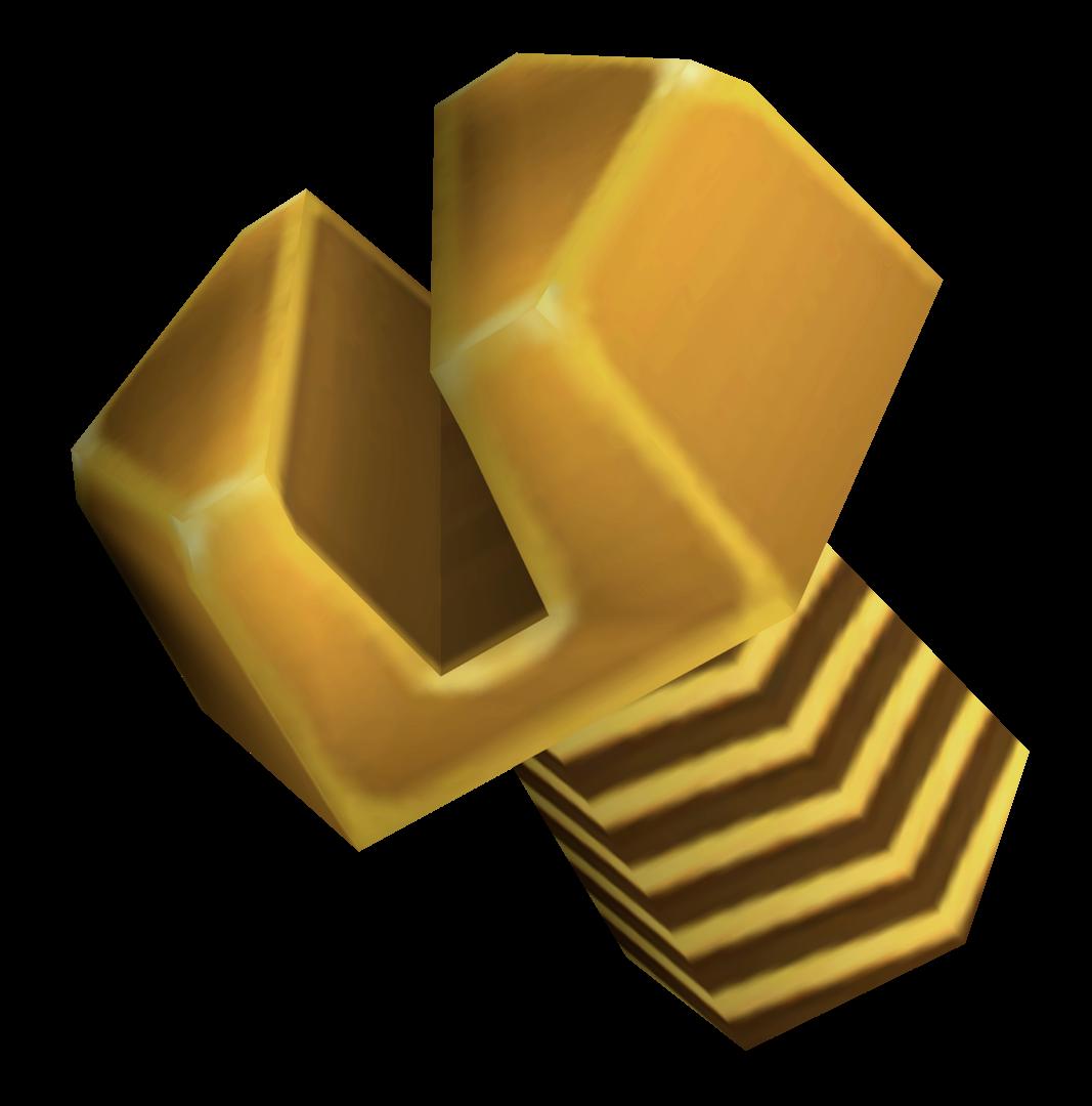 Βίδα από χρυσό