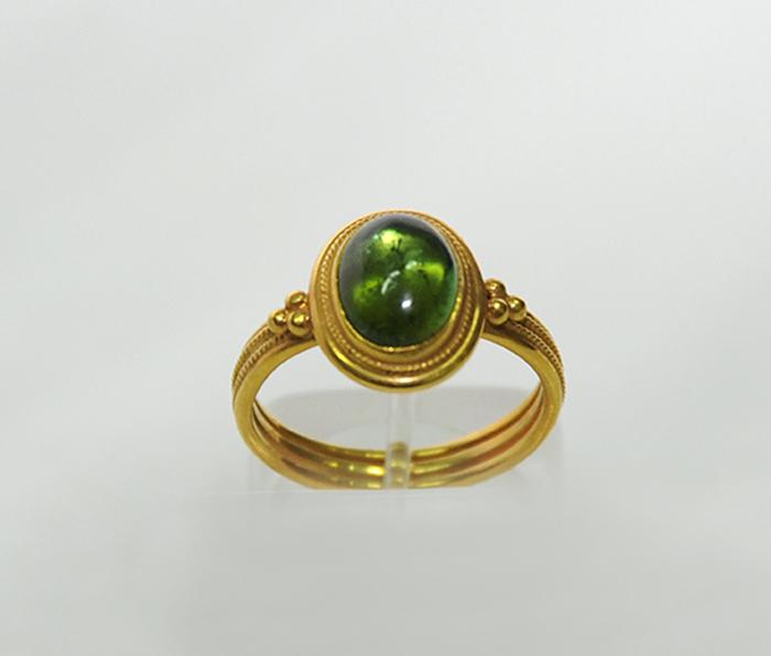 ολόχρυσο δαχτυλίδι