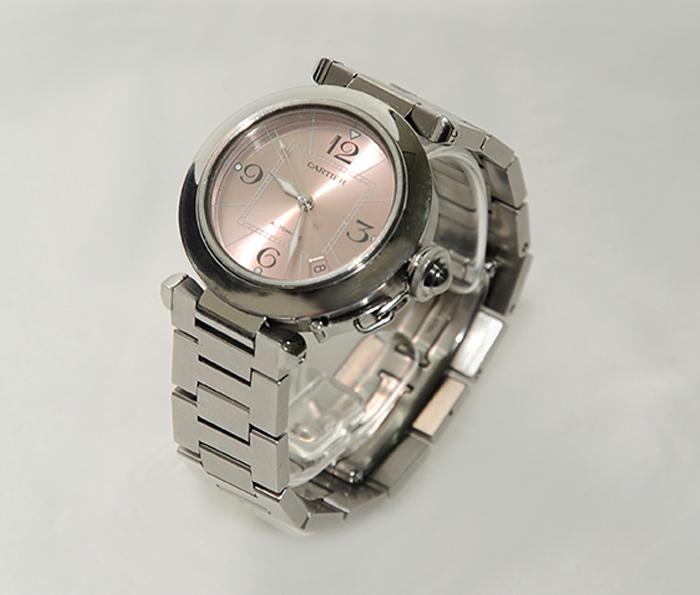 ασημένιο ρολόι cartier