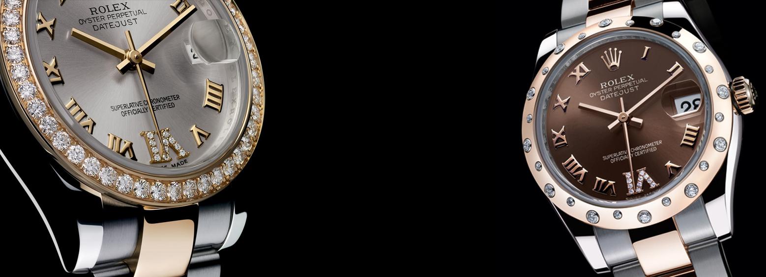 2 αντρικά ρολόγια rolex